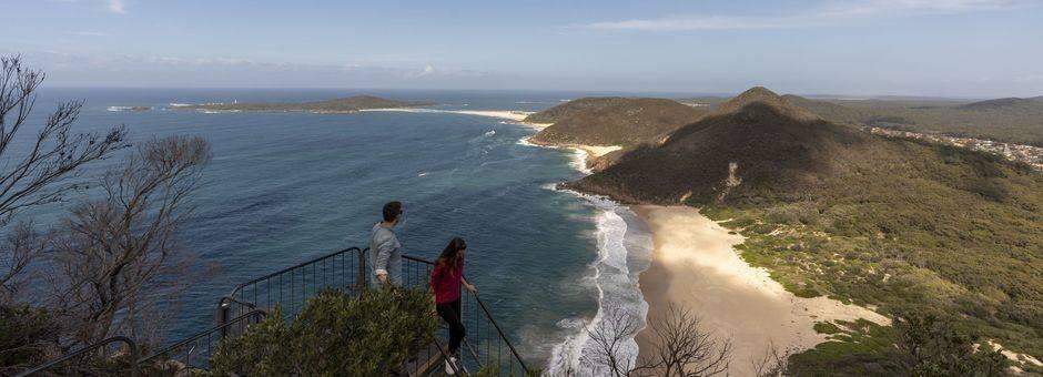 Australie-Port-Stephans-strand