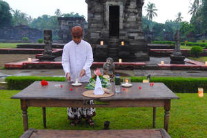 Blitar: The Lost Temple Dinner