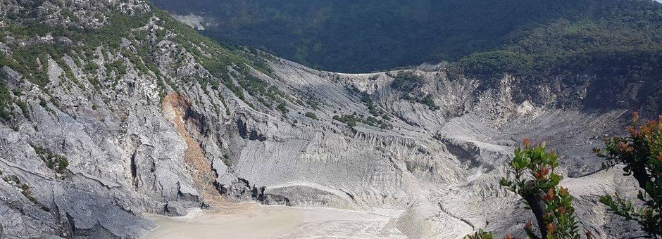 Java-Tangkuban-Prahu-Vulkaan