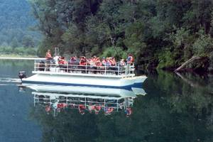 Jetboat over de Rio Negro