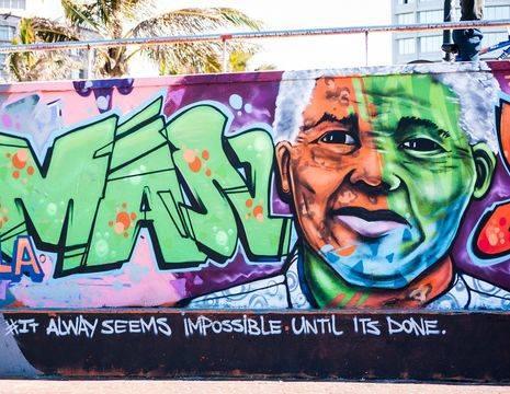 Zuid-Afrika-Durban-Graffiti