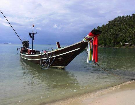 Thailand-Koh-Phangan-vissersboot