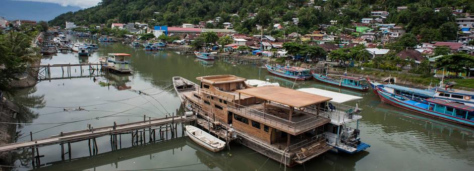 Indonesie-sumatra-padang-rivier