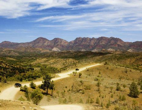 Australie-Flinders-Ranges-uitzicht-bergen_1_571582