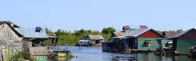 Van de Thais/Cambodjaanse grens naar Siem Reap