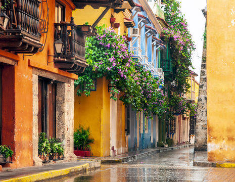 Colombia-Cartagena-Huisjes