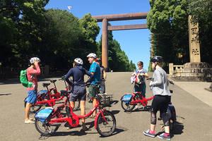Ervaar Tokyo vanaf de fiets