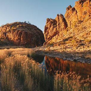 Australie-West-MacDonnel-Ranges-landschap