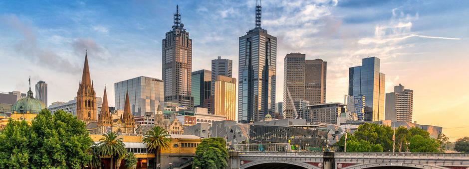 Australie-Melbourne-skyline-2
