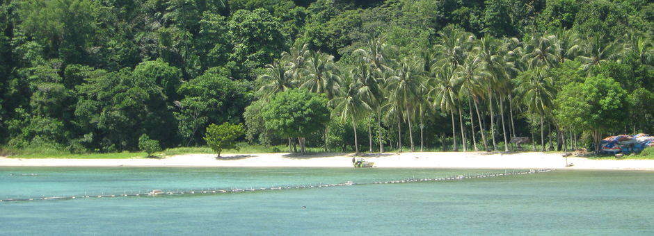Maleisië-MaleisischBorneo-Sabah-GayaIsland-kustlijn2