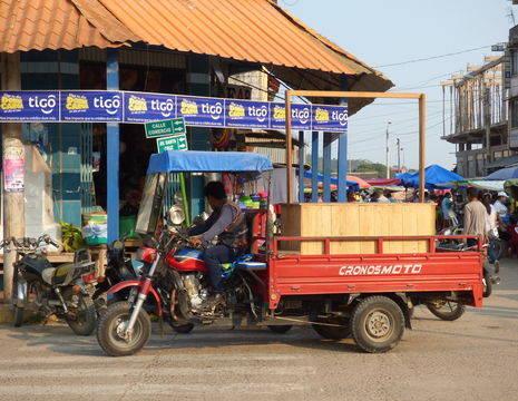 Vervoer in Rurrenabaque - Bolivia