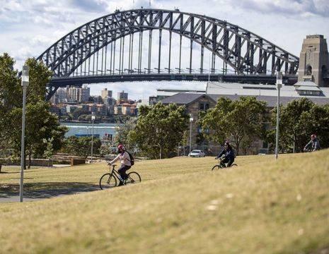 Australie-Sydney-harbor-bridge