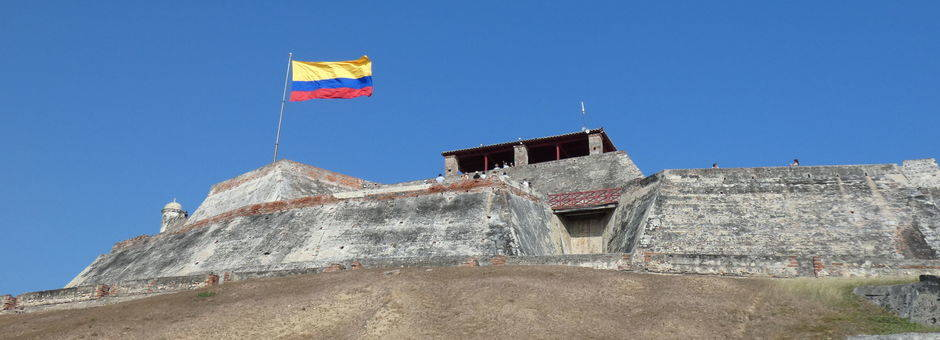 Colombia-Cartagena-fort