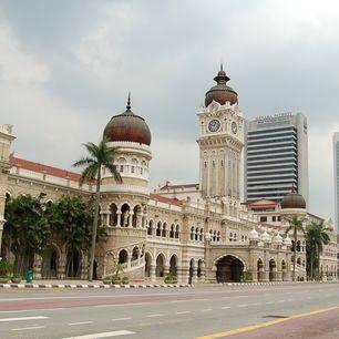 Maleisie-Kuala-Lumpur-Sultan-Abdul-Samad-gebouw