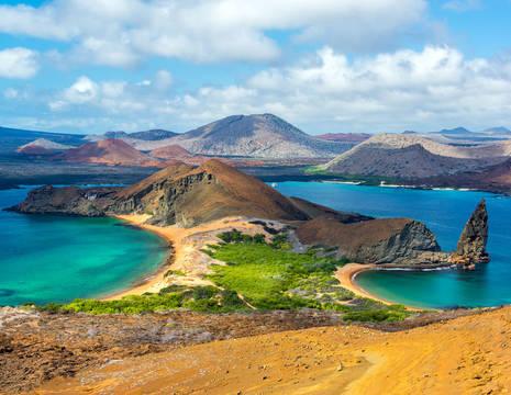 Galapagos-Bartolome-uitzicht-meer