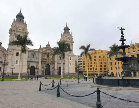 Peru-Lima-Kathedraal