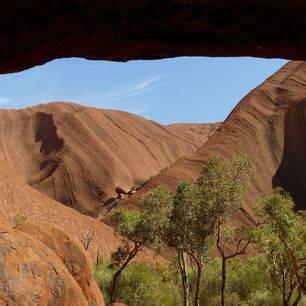 Australie-Uluru-rotsen