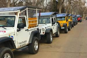 Jeepsafari en paardrijden