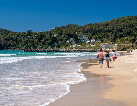 Australie-Noosa-strand
