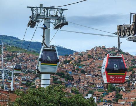 Colombia-Medellin-Metro-Cable