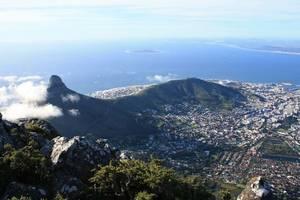 Zuid-Afrika-Kaapstad-Tafelberg-Uitzicht