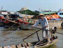 Fietstocht landbouw en visserij in Hoi An