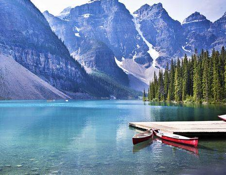 Canada-Banff-Lake-Moraine