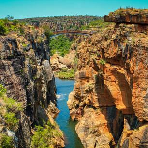 De panoramaroute is werkelijk prachtig met mooie vergezichten, Zuid-Afrika