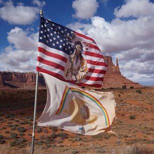 Amerika-Monument-Valley-Vlag