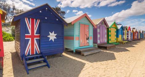 Australie-Melbourne-Brighton-Beach