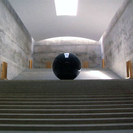 Kunstwerk in het Chichu Art Museum