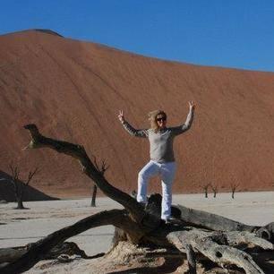 Foto Death Vlei Namibië