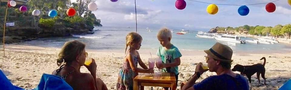 Met de kinderen op Koh Lipe in Thailand