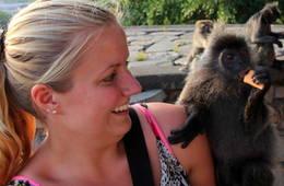 Maleisie - lara met aapje