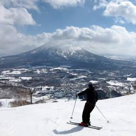 skiën op Hokkaido