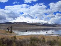 Chungará, hoogstgelegen meer van Chili