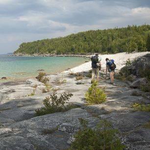Canada-Bruce-Peninsula-Strand