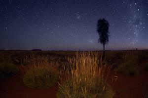 Australie-Uluru-sterren