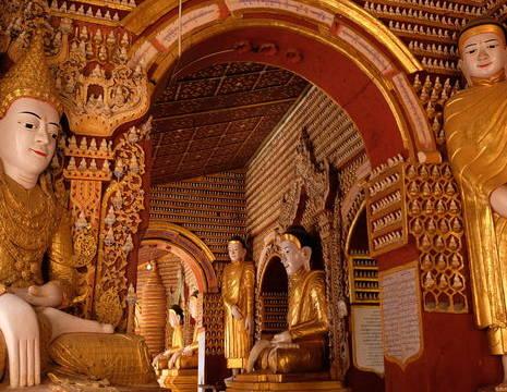 Myanmar-Monywa-boedha beelden(8)