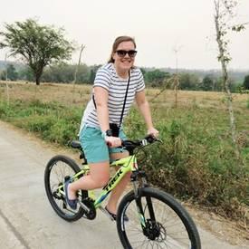 Op de fiets door Thailand
