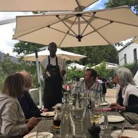 Wijn in Kaapstad