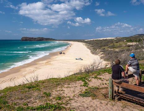 Australie-Fraser-Island-kust-strand