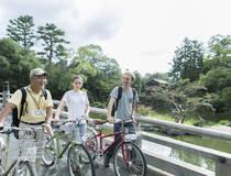 Fietstocht door de gezellige straten van Kyoto