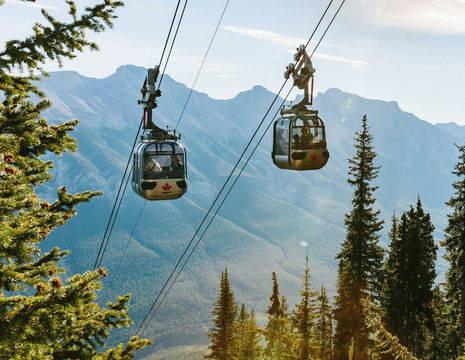Canada-Banff-Gondola