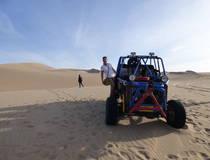 Sandbuggy tour en sandboarden