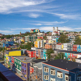 Canada-Newfoundland-St-Johns-Huisjes