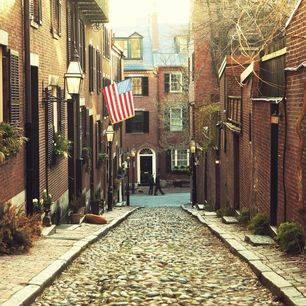 Amerika-Boston-Steegje