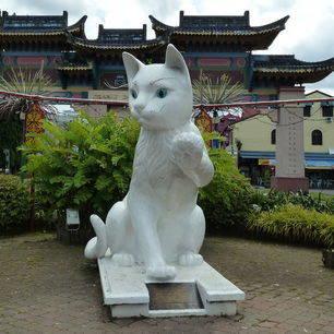 Sarawak-Kuching-stad van de katten2