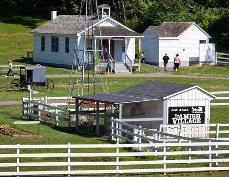 Amerika-Lancaster-Amish-Village