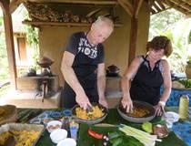 Ubud: Koken op een Balinese boerderij